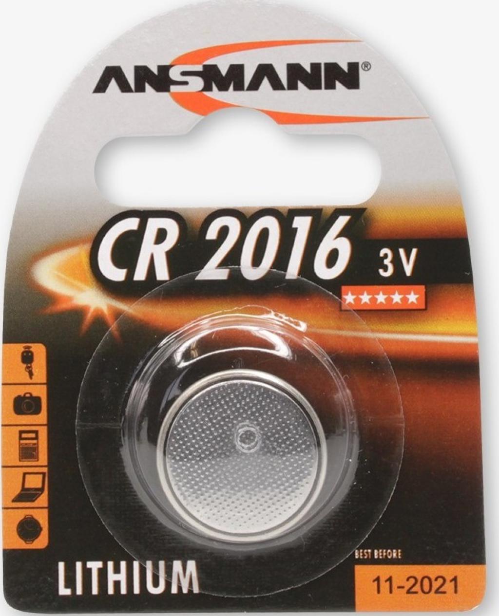 Батерии ANSMANN CR2016 1B 5020082