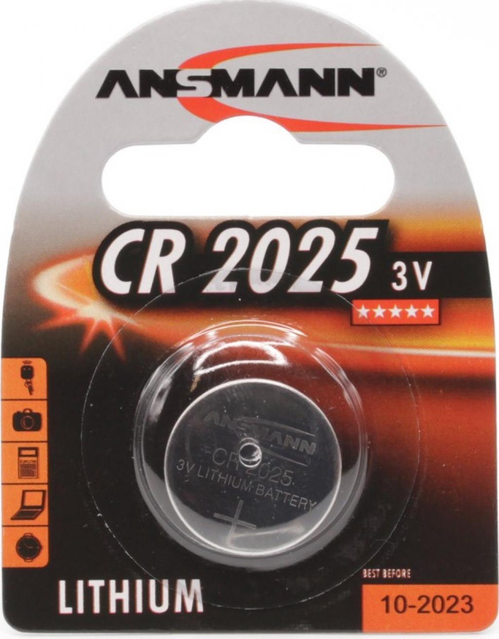 Батерии ANSMANN CR2025 1B 5020142
