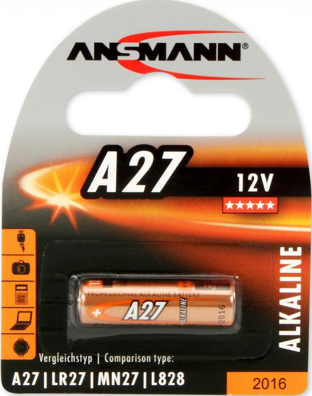 Батерии ANSMANN 12V А27 1B ANS 1516-0001