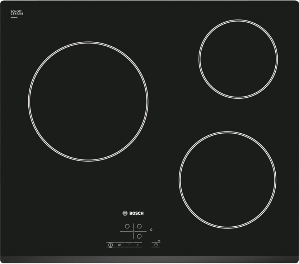 Плот за вграждане - керамика/нестандартен Bosch PKM631B17E