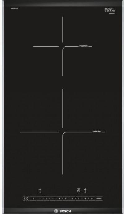 Плот за вграждане - керамика/двойка Bosch PIB375FB1E