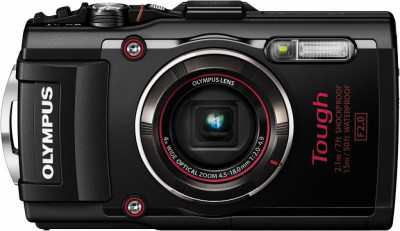 Фотоапарат Olympus TOUGH TG4 Black + 16GB SD