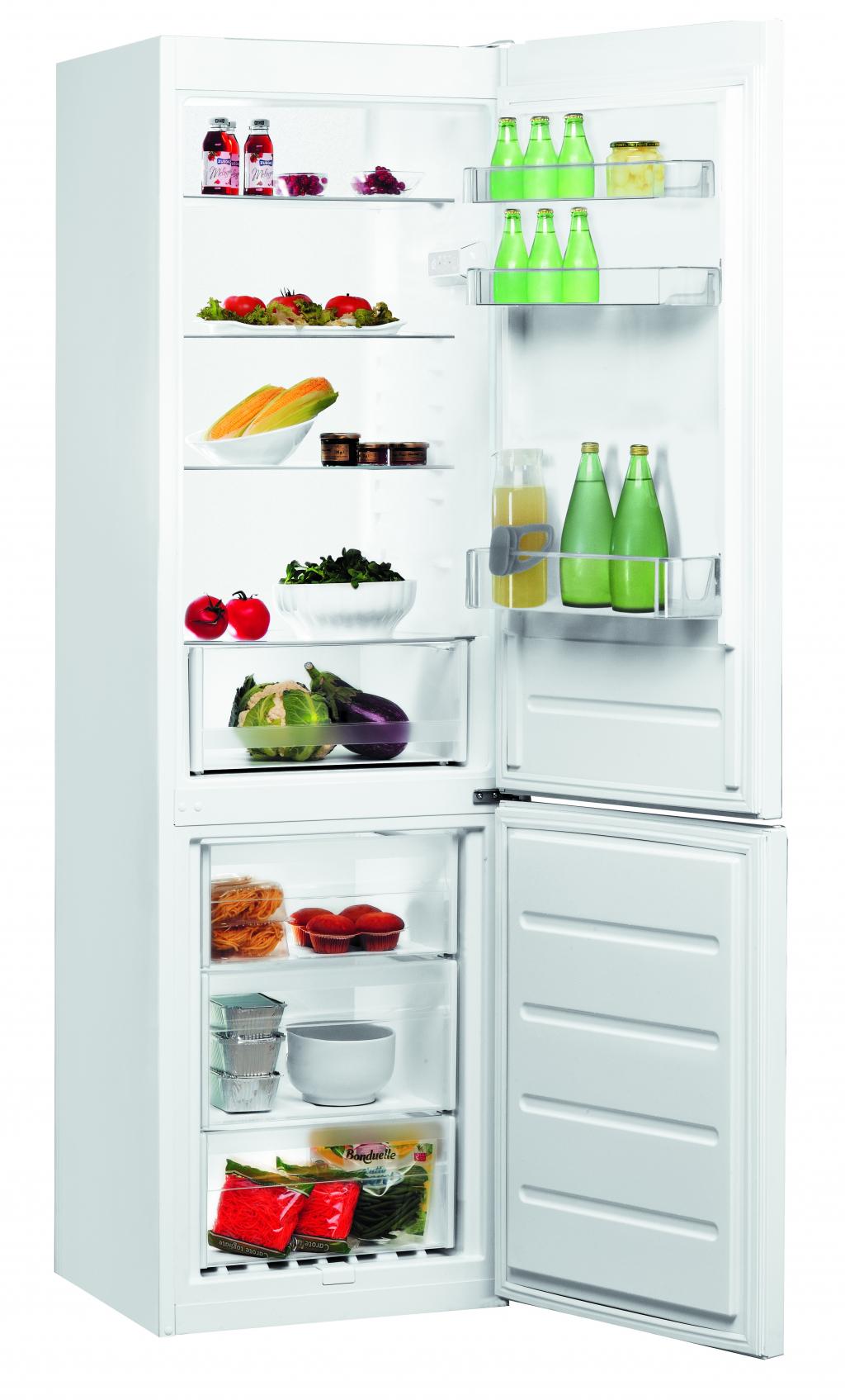 Хладилник с фризер Indesit LI8S1W