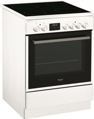 Готварска печка с керамичен плот Whirlpool ACMT 6533/WH